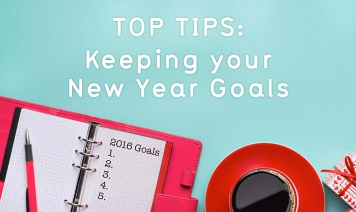 Keeping your new year goals
