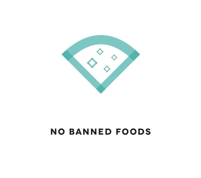 No banned foods